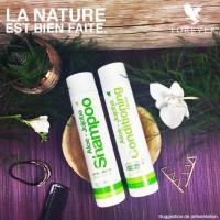 Pour des cheveux souples et brillants, testez gratuitement nos  produits à l'Aloé